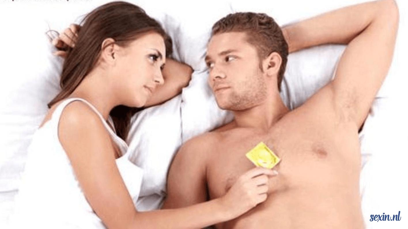 mannen sneller seks hebben zonder condoom