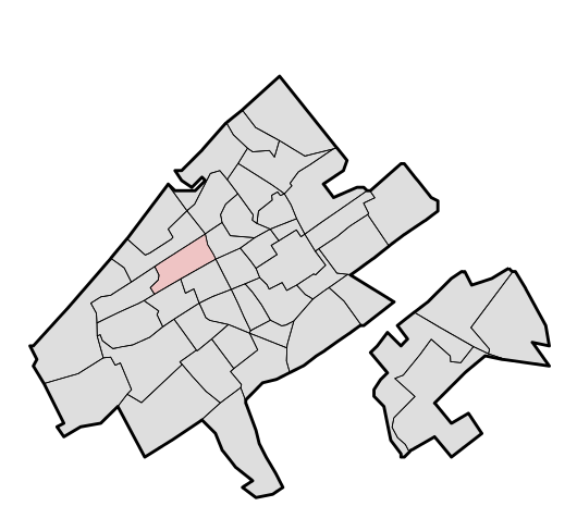 lokatie bomenbuurt
