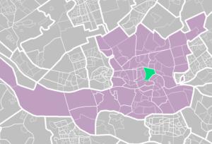Stadsdriehoek rotterdam