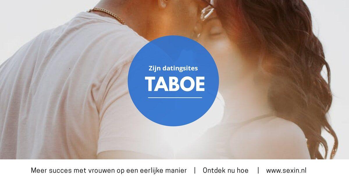 SXN Zijn datingsites taboe